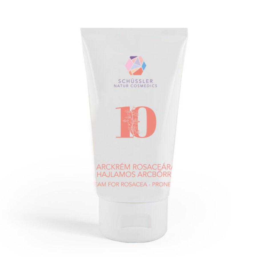 Nr.10 Schüssler natúr arckrém rosaceaára hajlamos bőrre
